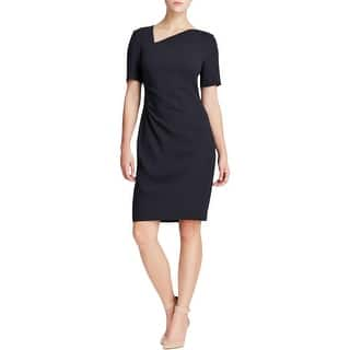 T Tahari Womens Marianna Wear to Work Dress Asymmetrical Short Sleeves - 8|https://ak1.ostkcdn.com/images/products/is/images/direct/bca1fb1f5461a9bd7c6df5a895fb70ab3585a834/T-Tahari-Womens-Marianna-Wear-to-Work-Dress-Asymmetrical-Short-Sleeves.jpg?impolicy=medium