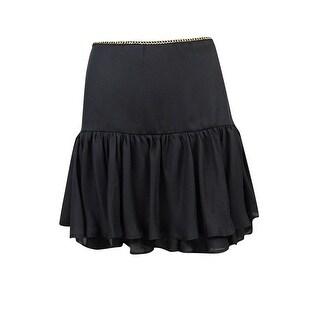 XOXO Junior's Mini Ruffled Chain Detail Skirt - 5/6