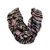 Kohl's Figure 8 Infinity Loop Multi-way Multicolor Lined Scarf Wrap - Large