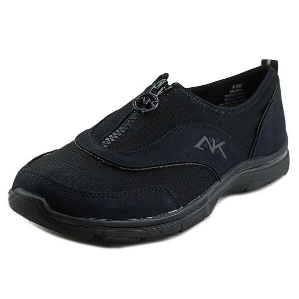 Anne Klein Sport Leena Round Toe Canvas Sneakers