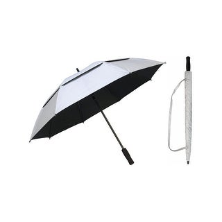 "Rainstoppers Unisex Adult Silver Multi 50"" Auto Windbuster Golf Umbrella - One Size"