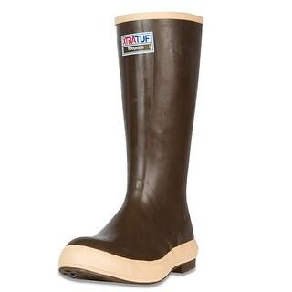 Xtratuf Men's Legacy 2.0 Plain Toe 15 in Copper/Tan Size 10 Fishing Boot