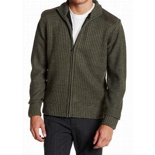 Weatherproof NEW Olive Green Mens Size Small S Full Zip Sweater|https://ak1.ostkcdn.com/images/products/is/images/direct/bca4dff22a3ac5746ba3711d5ef594a5d7868d86/Weatherproof-NEW-Olive-Green-Mens-Size-Small-S-Full-Zip-Sweater.jpg?impolicy=medium