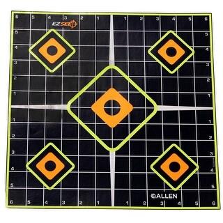 Allen cases 15224 allen cases 15224 ez see adhesive sight in grid target 5/pk