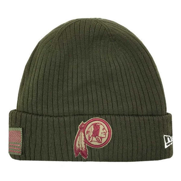 da976e01904 Shop New Era 2018 NFL Washington Redskins Salute to Service Knit Hat  Stocking Beanie - Free Shipping On Orders Over  45 - Overstock - 23577510