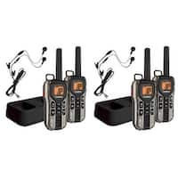 Uniden GMR4088-2CKHS (4-Pack) Radio with PTT Power Boost