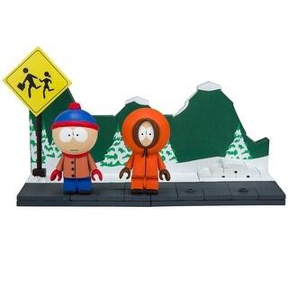 South Park The Bus Stop 82-Piece Construction Set w/ Stan & Kenny - Multi