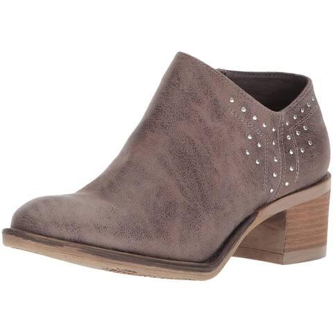 Carlos by Carlos Santana Womens F8514F1250 Round Toe Ankle Fashion Boots