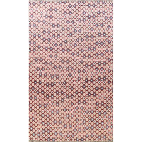 "Geometric Moroccan Oriental Area Rug Wool Handmade Living Room Carpet - 10'3"" x 14'2"""