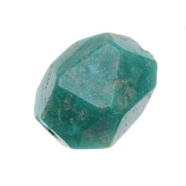 AA Green Russian Amazonite Gemstone 8-22mm Faceted Nugget Beads (10)