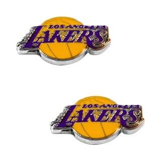 LOS Angeles Lakers Post Stud Logo Earring Set NBA Charm