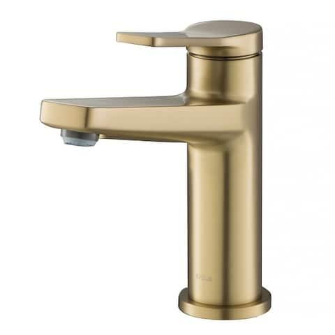 KRAUS Indy Single Handle 1-Hole Bathroom Faucet