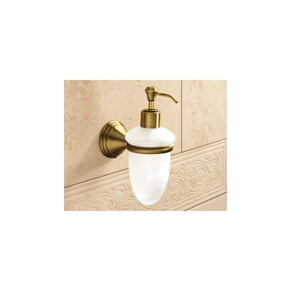 Nameeks 7581 Gedy Collection Wall Mounted Soap Dispenser Bronze
