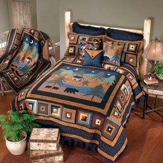 Link to Donna Sharp Midnight Bear Quilt Similar Items in Quilts & Coverlets