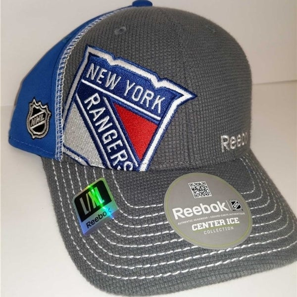 7c8b8cb4f0c Shop NY Rangers Mens Size L Xl Reebok Fitmax 70 Stretch Fit Hat  25 - Free  Shipping On Orders Over  45 - Overstock - 23071684