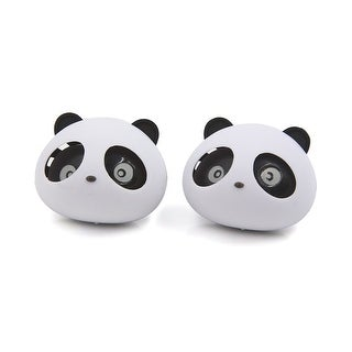 Panda Head Shaped Car Air Freshener Auto Perfume Diffuser Fragrance 2pcs