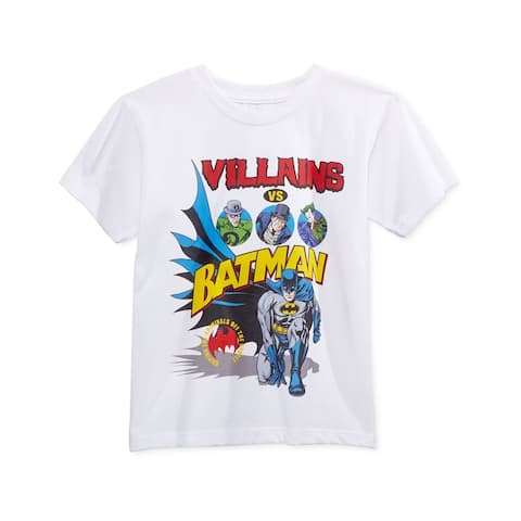 Warner Brothers Boys Batman Villians Graphic T-Shirt