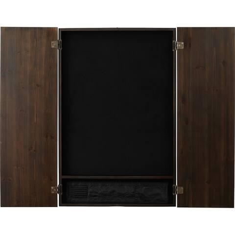 Viper Metropolitan Espresso Soft Tip Dartboard Cabinet / 40-0408