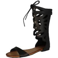 Refresh Women's Ongee-10 Gladiator Sandals