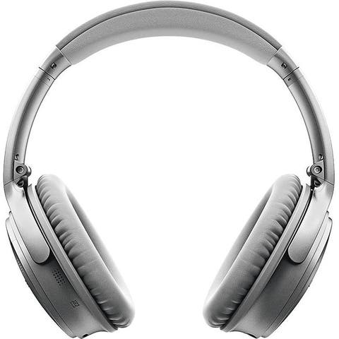 Bose QuietComfort 35 Series II Wireless Noise Cancelling Headphones (Silver)