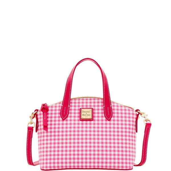 Dooney & Bourke Small Gingham Ruby (Introduced by Dooney & Bourke at $158 in Apr 2017) - Pink