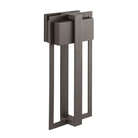 "Park Harbor PHEL2202 Shockoe 18"" Tall Single Light ADA Compliant LED Outdoor Wall Sconce"