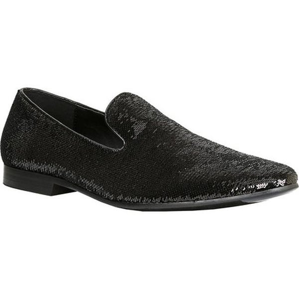 918fa04edac Shop Giorgio Brutini Men s Covert Smoking Loafer Black Sequins - Free  Shipping Today - Overstock - 15025904