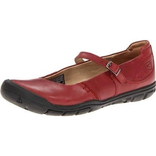 Keen Womens Delancy MJ Leather Round Toe Mary Janes - 5