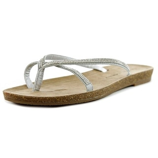 Chinese Laundry Noah Women Open Toe Synthetic Silver Sandals