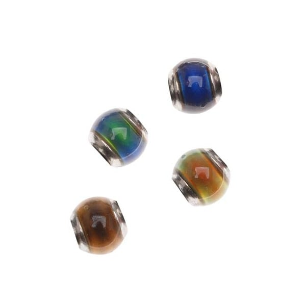Mirage Color Changing Mood Beads - Round Beads 5mm (4)