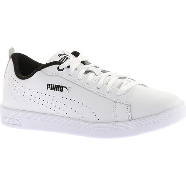 6d2fda65f83 Shop PUMA Women s Smash V2 L Perf Sneaker PUMA White PUMA White ...