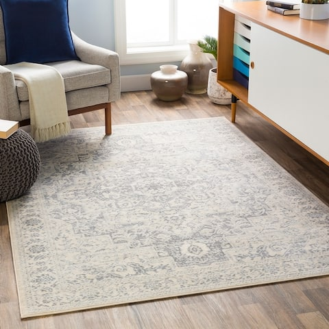 Gracewood Hollow Isakovic Medallion Area Rug