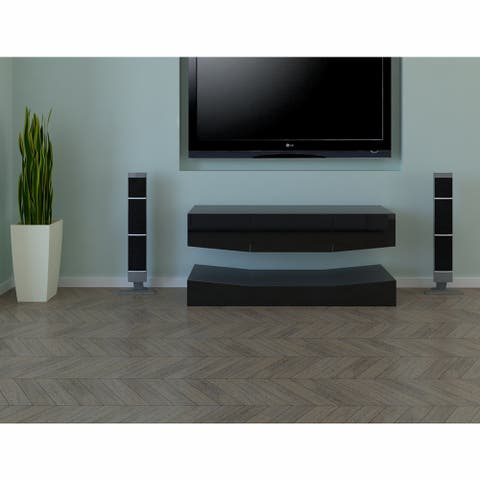 """Tv Stand Entertainment Stand Wall Mounted Media Audio/Video Console - 48"""""""