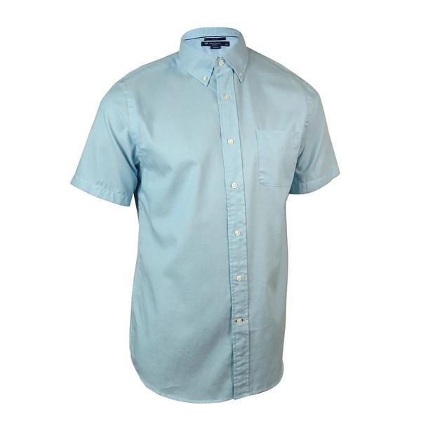 Cremieux Men's Classics Slim Fit Nailhead Button-Down Shirt