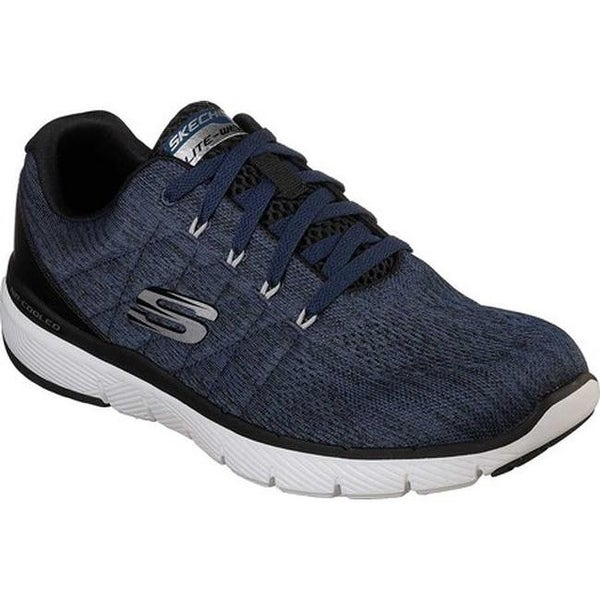 2db9030419a9c ... Men's Shoes; /; Men's Sneakers. Skechers Men's Flex Advantage 3.0  Stally Sneaker Blue/Black
