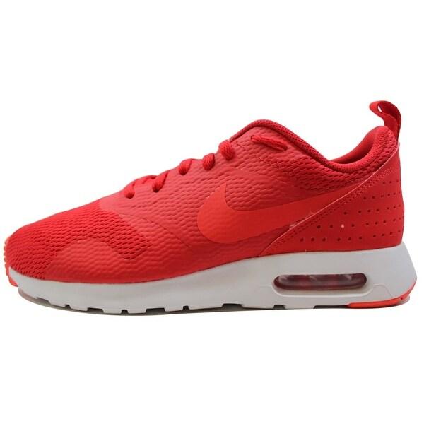 7219de740204 ... Men s Athletic Shoes. Nike Men  x27 s Air Max Tavas University Red Light  Crimson-White