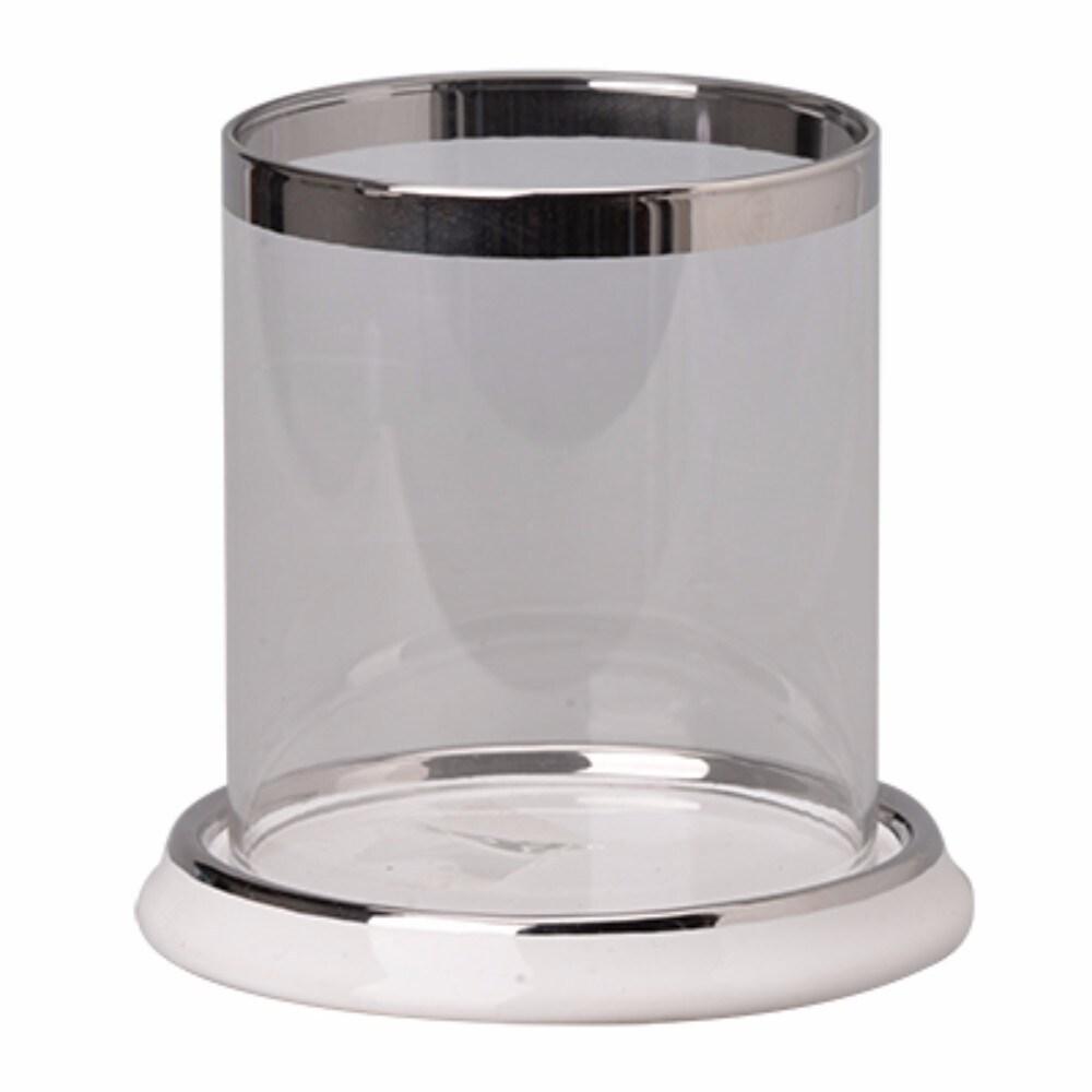 Slickly Elegant Aiza Round Candle Holder