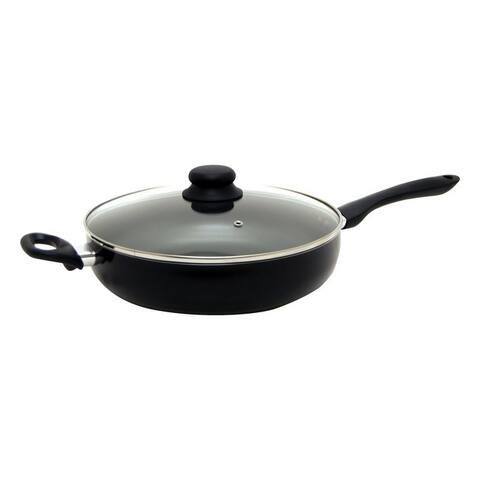 Starfrit 034410-002-sba2 starbasix 11 deep fry pan with lid