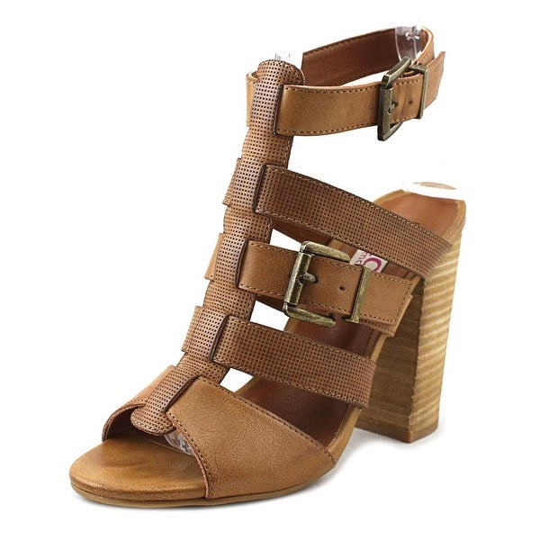 Dolce by Mojo Moxy Darby Cognac Sandals