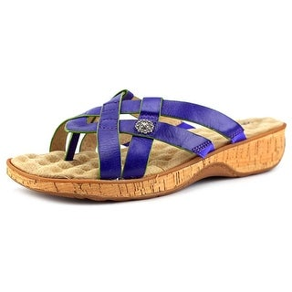 Softwalk Beaver Creek Women W Open Toe Synthetic Multi Color Slides Sandal
