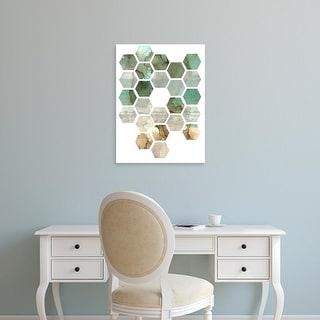 Easy Art Prints Pam Ilosky's 'Hexocollage II' Premium Canvas Art