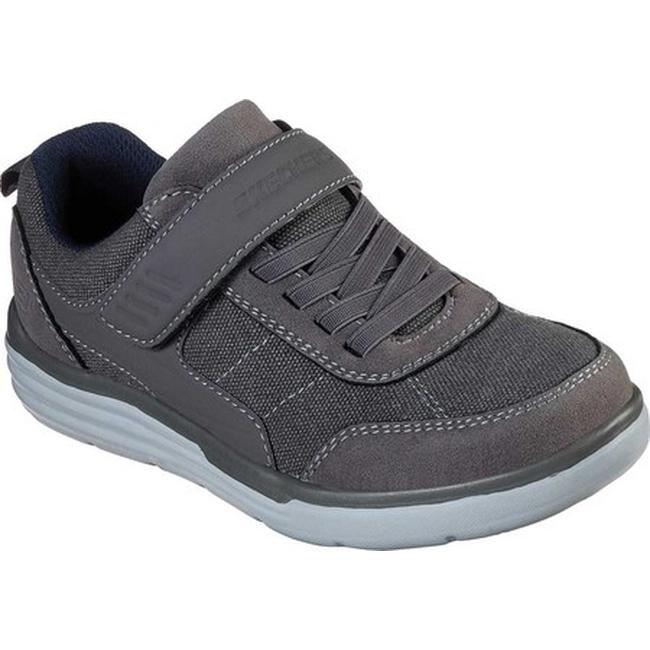 Skechers Boys' Maddox Street Shifter Sneaker Charcoal