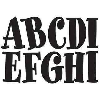 Black Spumoni 2-3/4In Designer Magnetic Letters