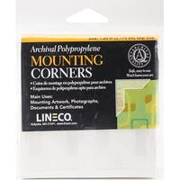 """Polypropylene Photo Mounting Corners 256/Pkg-Clear Full View 1.25"""""""