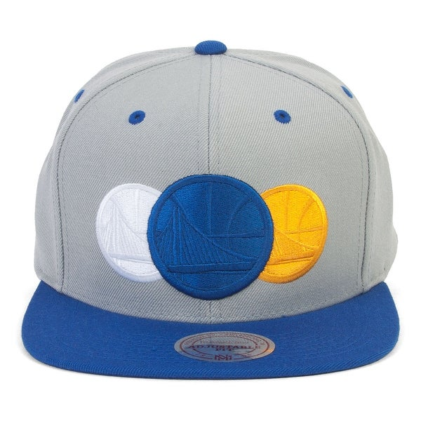 d69b86785d1f4b Shop Mitchell & Ness Golden State Warriors Triple Color Stack ...