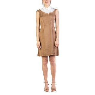 Miu Miu Women's Viscose Dress Two Tone - 6