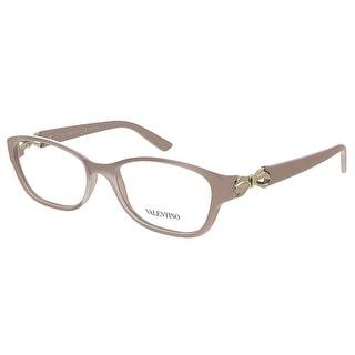 Valentino V2621 610 Rose Rectangular Valentino Eyewear