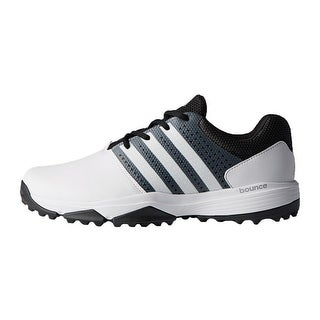 Link to New Men's Adidas 360 Traxion Golf Shoes White/Black/Met. Silver Q44994 Similar Items in Golf Shoes