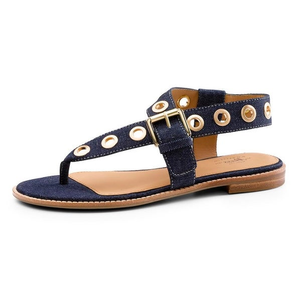 GH Bass & Co Macie Dark Denim Sandals