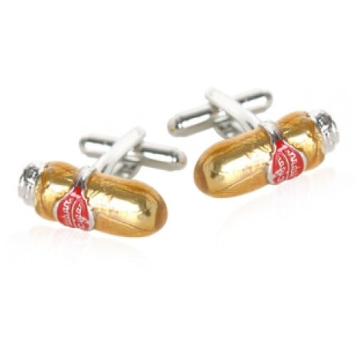 Cigar Smoking Cuban Cigar Cufflinks